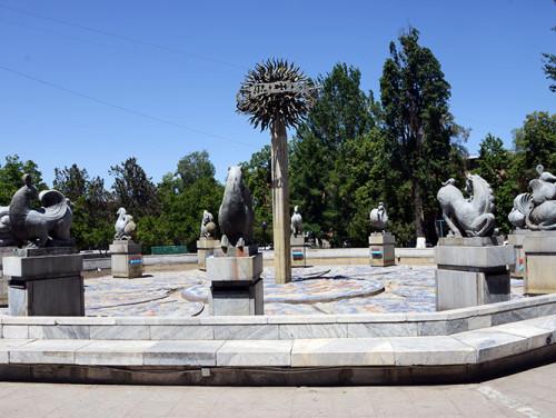 Kazakhstan Almaty Fountain
