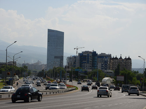 Kazakhstan Almaty Highway