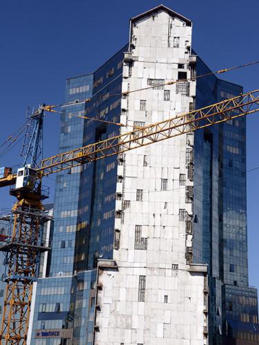 Kazakhstan Almaty Modern Area Construction