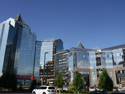 Kazakhstan Almaty Modern Area