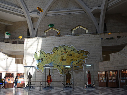 Kazakhstan Almaty Museum Entrance