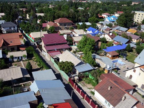 Kazakhstan Almaty Suburbs