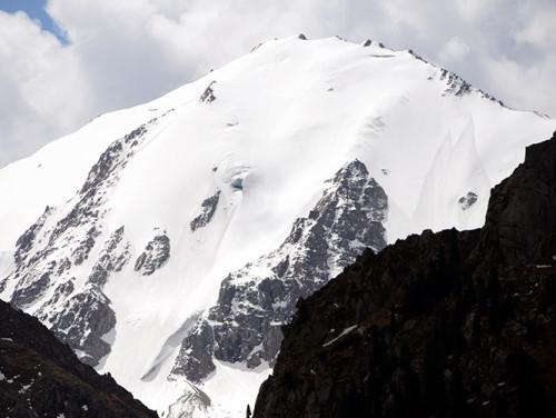 Kazakhstan Ile-Alatau National Park Glacier
