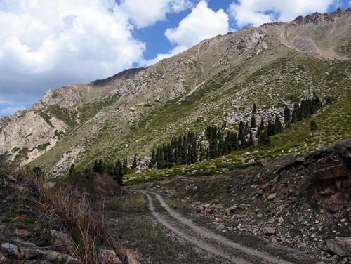 Kazakhstan Big Almaty Lake Trail