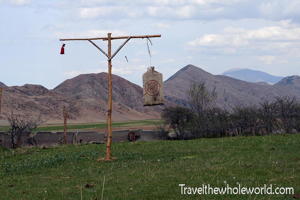 Kyrgyzstan Archery Target