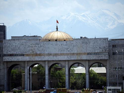 Kyrgyzstan Bishkek Ala Too Square