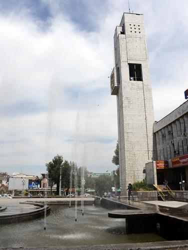 Kyrgyzstan Bishkek Clock Tower