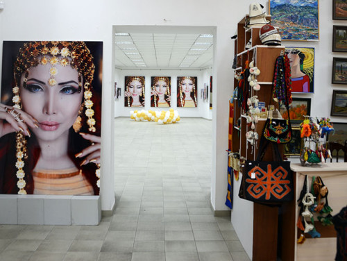 Kyrgyzstan Bishkek Gallery Inside