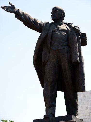 Kyrgyzstan Bishkek Lenin