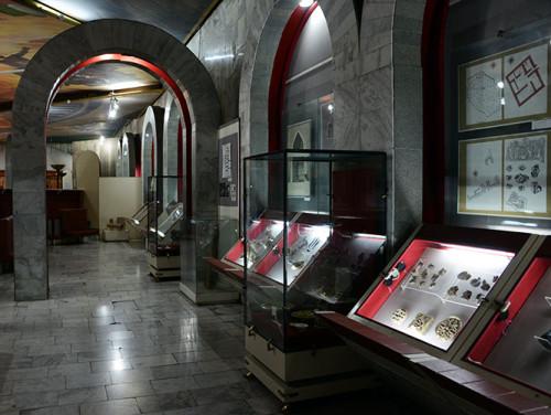 Kyrgyzstan Bishkek State Museum Display