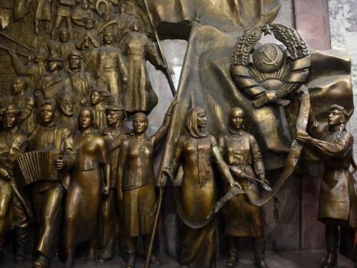 Kyrgyzstan Bishkek State Museum Soviets