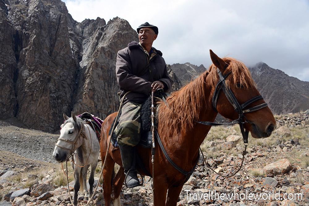 Kyrgyzstan Horseback Riding Shepherd