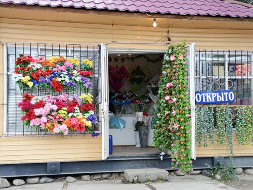 Kyrgyzstan Karakol Flower Shop