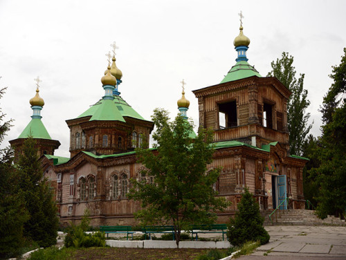 Kyrgyzstan Karakol Holy Trinity Cathedral
