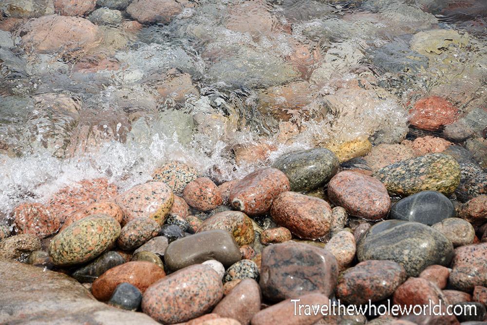Kyrgyzstan Lake Issyk Kul Shore Stones