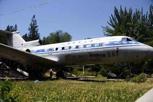 Kyrgyzstan Osh Amusement Park Aircraft