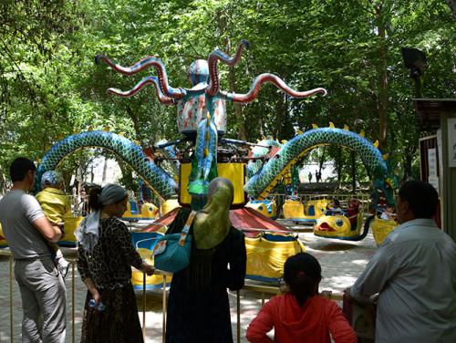 Kyrgyzstan Osh Amusement Park Rides