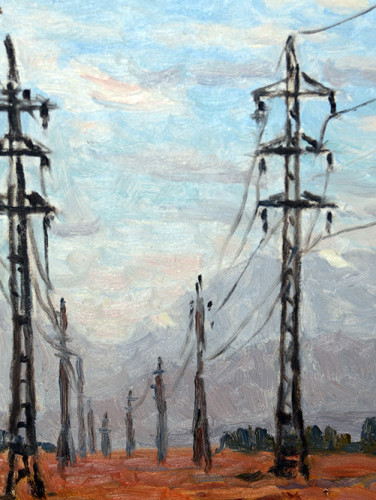 Painting of Power-Lines