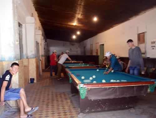 Kyrgyzstan Osh Bazaar Pool