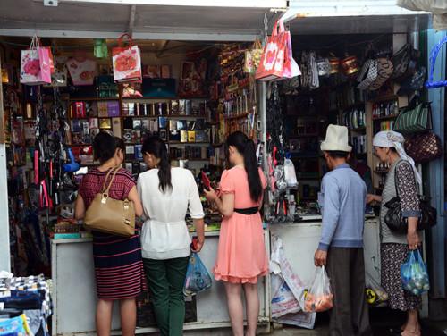 Kyrgyzstan Osh Bazaar