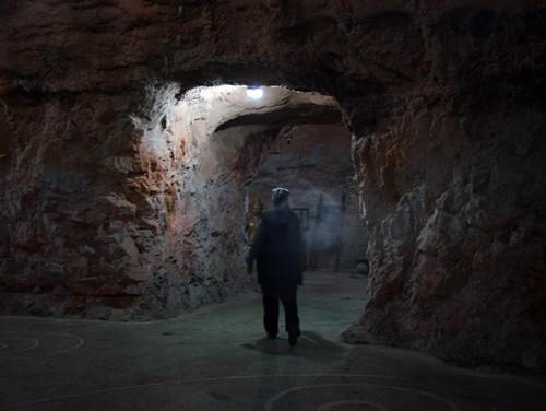 Kyrgyzstan Osh Cave Museum Smoke
