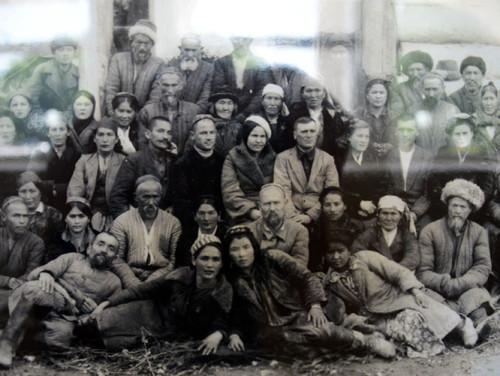 Kyrgyzstan Osh Museum Vintage Photo