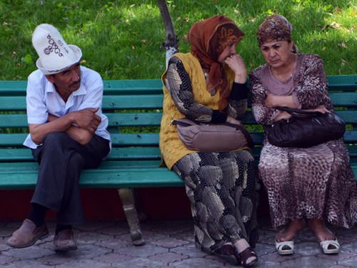 Kyrgyzstan Osh People