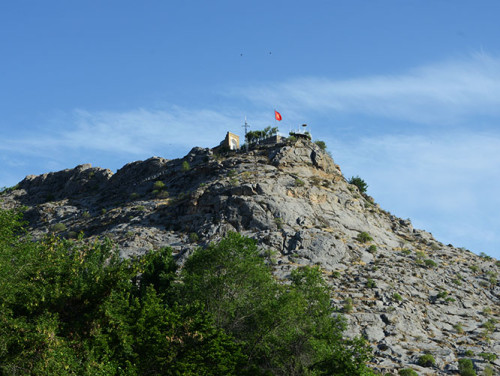 Kyrgyzstan Osh Sulaiman Too Sacred Mountain