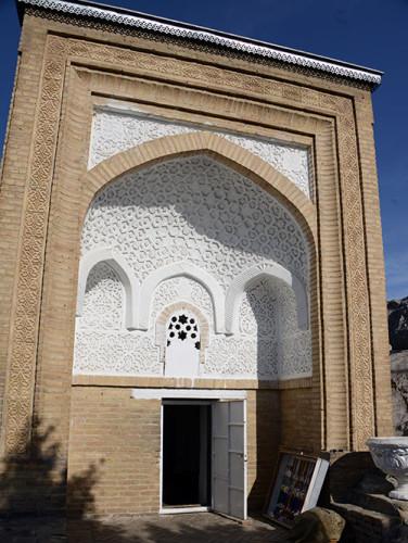 Kyrgyzstan Osh Sulaiman-Too Sacred Mountain Babur's House