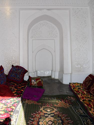 Kyrgyzstan Osh Sulaiman-Too Sacred Mountain Babur's House Inside