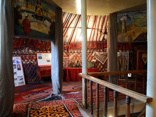 Kyrgyzstan Osh Yurt Museum 2nd Floor