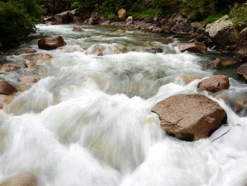 Kyrgyzstan Tian Shan River