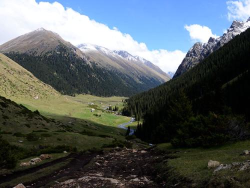Kyrgyzstan Tian Shan Valley