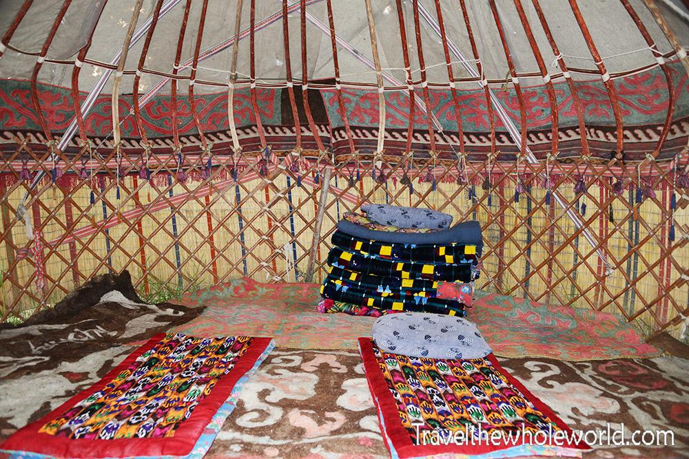 Kyrgyzstan Yurt Inside
