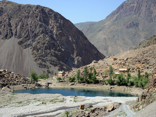 Tajikistan Fan Mountains Lake Fifth