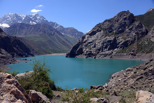 Tajikistan Fan Mountains Lake Sixth