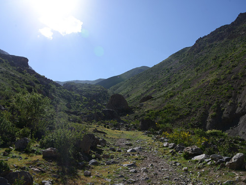 Tajikistan Fan Mountains Trail