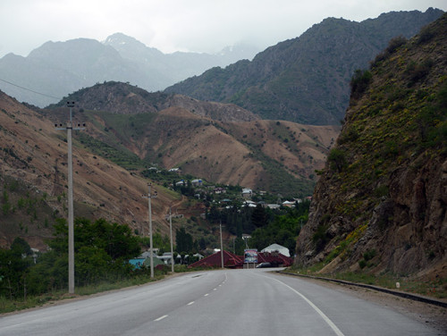 Tajikistan Highway Dushanbe