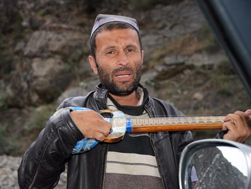 Tajikistan Highway Singer