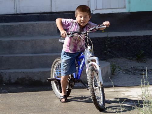 Tajikistan Panjakent Kid