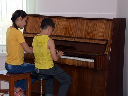 Tajikistan Panjakent Piano