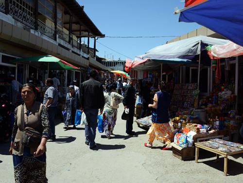 Tajikistan Penjakent Market