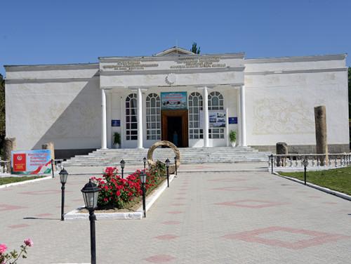 Tajikistan Panjakent Museum