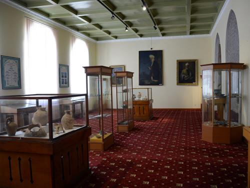 Tajikistan Panjakent Museum Inside