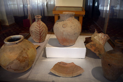 Tajikistan Panjakent Museum Pottery