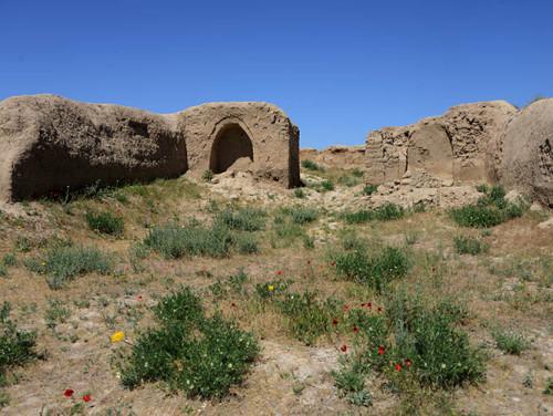 Tajikistan Penjakent Old City