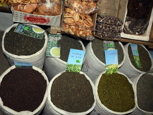 Tajikistan Panjakent Spices