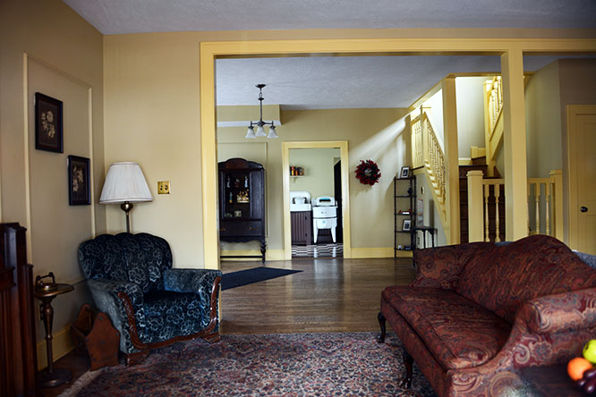 ohio cleveland christmas story house inside