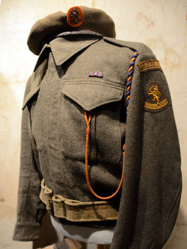 Netherlands The Hague Atlantikwall WWII Bunker Dutch Uniform