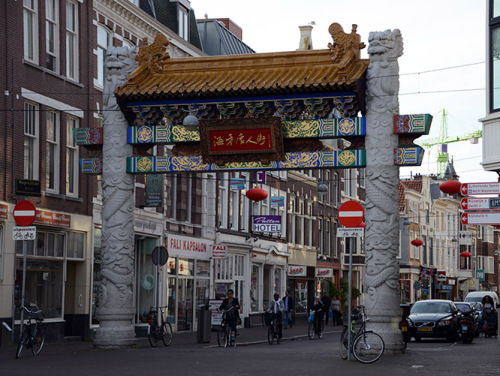 Netherlands The Hague Chinatown